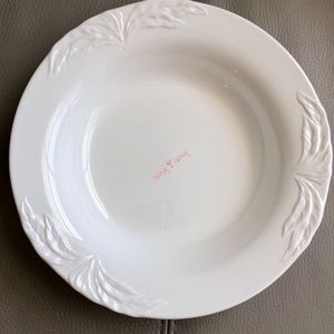 "Villeroy & Boch Foglia Large Rim Soup Bowl 9"""